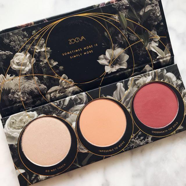 (Used) Zoeva Opulence Blush Palette