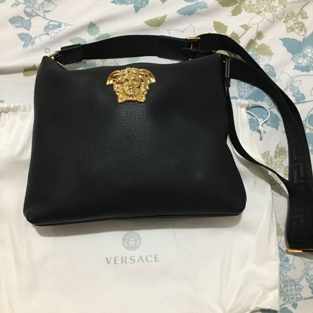 Versace sling bag authentic, Luxury, Bags   Wallets on Carousell ac1691926c