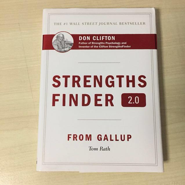(W/ Access) StrengthsFinder hardcopy (Strengths Finder)
