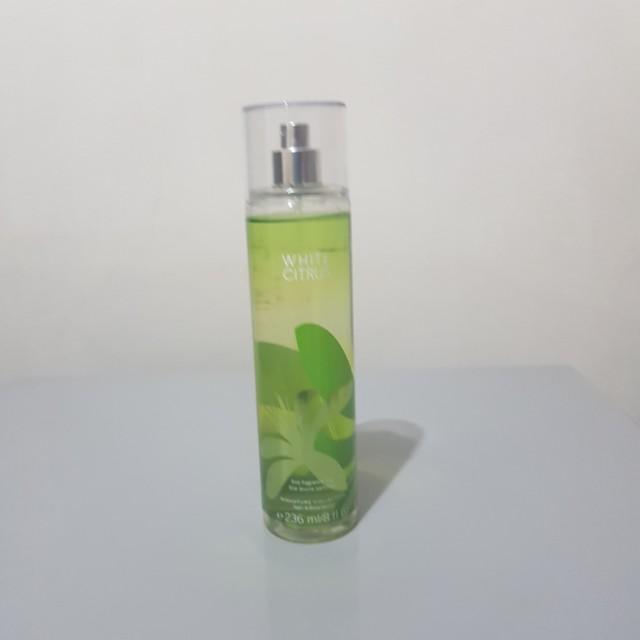 White Citrus Bath&Body Works Fragrance Mist