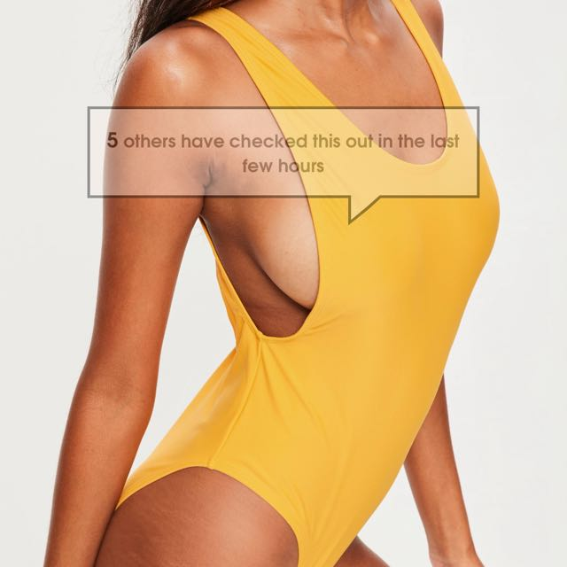 Yellow swimsuit size 10 NEW WITH TAGS