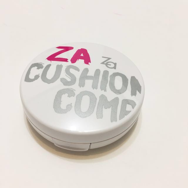 ZA裸光亮白氣墊粉餅