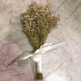 Dried Baby's Breath Bouquet
