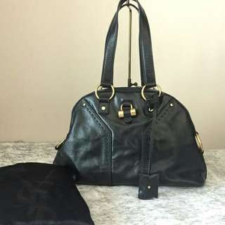 Authentic YSL Patent Small Muse