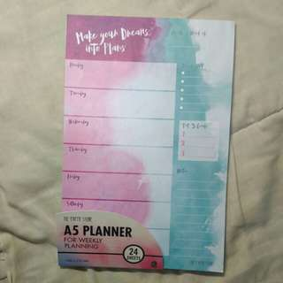 Paper stone weekly A5 planner