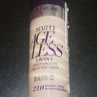 Covergirl + Olay Simply Ageless Liquid Foundation