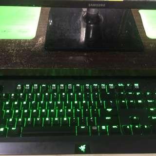Razer Blackwidow Ultimate (Clicky Keys)