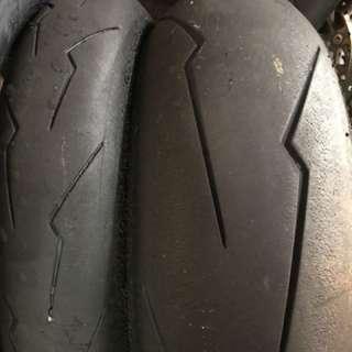 Pirelli Supercorsa Sc2 v2 120/70,180/60