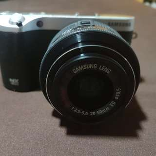 Samsung nx500 4k vlog camera