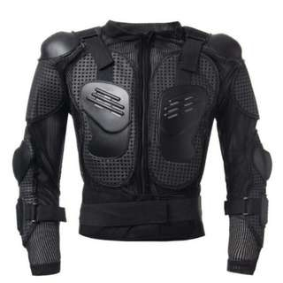 Motorcycle Full Body Protective Armor Jacket Spine Chest Shoulder Riding Gear(