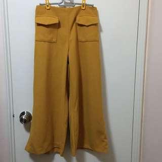 📣🆕《新品》Made in Korea Mustard yellow pant芥末黃絨褲
