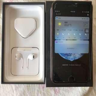 iPhone 7plus 亮黑色 未過保 128G