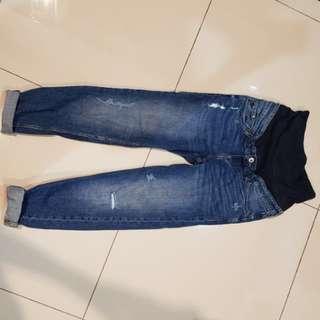 H&M Boyfriend Style Maternity Jeans
