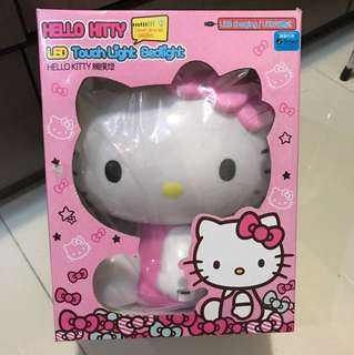 Hello Kitty LED Touch Light Bed Light (原價$209)