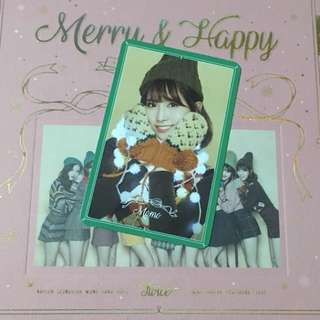 [WTS] TWICE Merry & Happy Momo Photocard