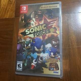 *Sales* Brand new Nintendo Switch Sonic Forces Game