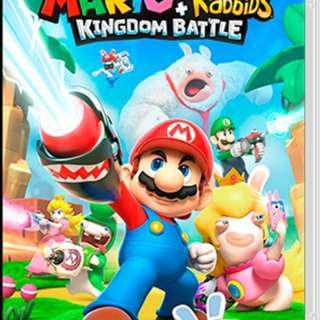 Nintendo switch Mario Rabbids Kingdom battle