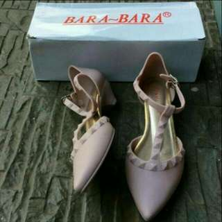Sepatu jelly wedges Bara Bara