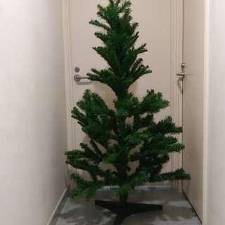 5尺聖誕樹十聖誕装飾十3包全新聖誔禮包