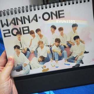 [CLEARANCE/READY STOCK] Wanna One fan-made 2018 Calendar