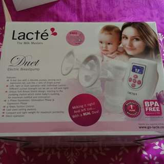 Preloved lacte duet breast pump