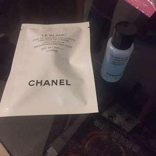 Chanel eye remover & make up base