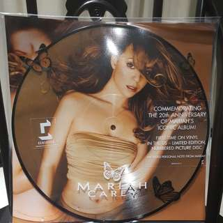 🚚 Mariah Carey butterfly vinyl record picture Lp