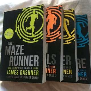COMPLETE Maze Runner Series