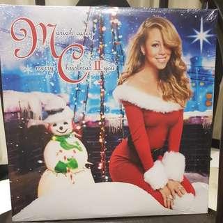 Mariah Carey merry christmas II you vinyl record LP