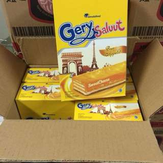 Gery厚醬起司威化餅 280g gery cheese coated wafer