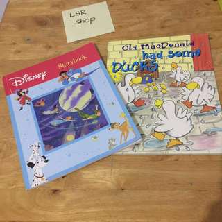 Book Bundle‼️Disney Storybook+OldMcDonald had some ducks