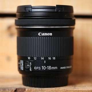 Canon EF 10-18 STM