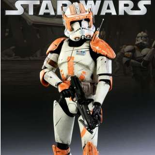 1/6 Scale Star wars_Sideshow Collectibles_Commander Cody- Star Wars - Episode III_12 inch Figure_Hot Toys