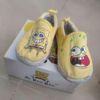Sponge bob shoes with ori box
