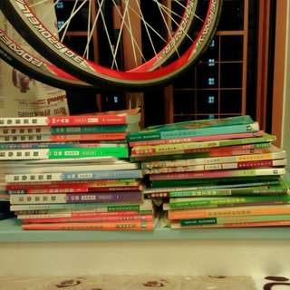 一堆中學用既教科書