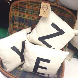 Scrabble Pillow