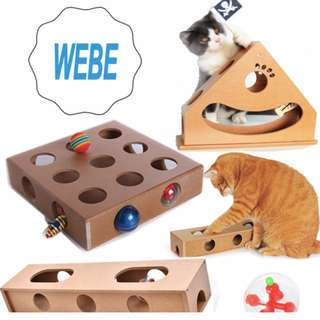 Elite Cat Peek and Play Toy Box, Maze & Puzzle Game for Cat /dog