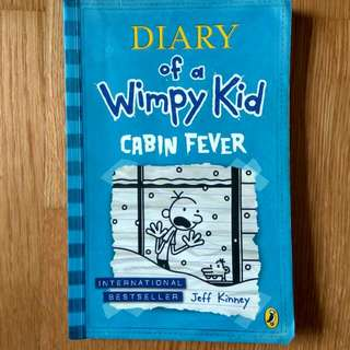 $3.90 diary of a wimpy kid cabin fever