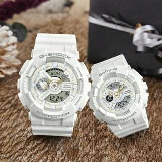 LOV-17A-7A CASIO LOVER'S 版 G-SHOCK Baby-g 情侶對裝手錶