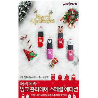Peripera🎅🎅 聖誕限定版 PERI'S 魅惑墨水唇彩 8ml🎅🎅