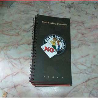 (Free)Narrow Spiral Notebooks x6