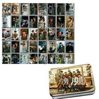 Preorder - WANNA ONE 'NOTHING WITHOUT YOU' LOMOCARD TIN 40 PCS (exc.pos)