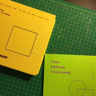 TWICETAGRAM PHOTOBOOK (DAHYUN, SANA, CHAEYOUNG) + THE BOX