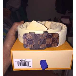Louis Vuitton Damier Belt (brown)