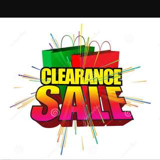BIG SALE ON ALL ITEMS!!!
