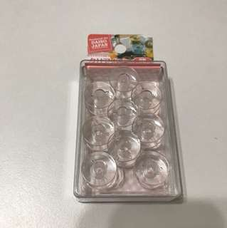 BRAND NEW Clear Bobbin With Case