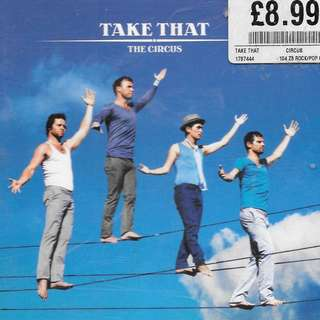 CD ALBUM - TAKE THAT - THE CIRCUS.  //BOX A //