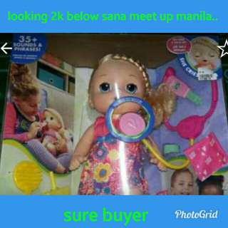 Looking for sweet tears baby alive