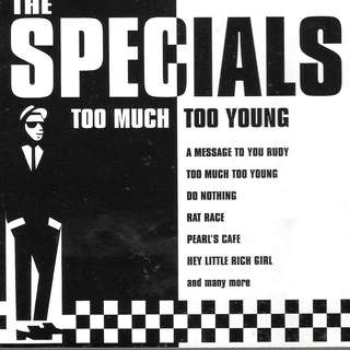 CD ALBUM - THE SPECIAL- TOO MUCH TOO YOUNG