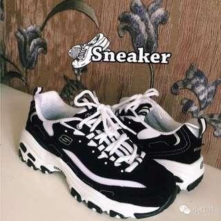 Skechers 少女時代 熊貓鞋